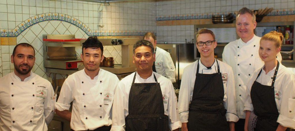 Teamfoto der Köche vom Parkhotel Ahrensburg