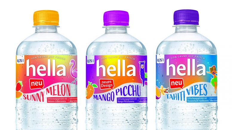 Drei hella Flaschen hella tahiti vibes