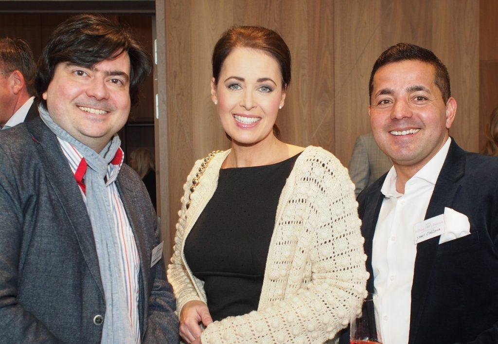 Gäste beim Neujahrsempfang der Stiftung Kinderjahre im Hotel LeMeridien