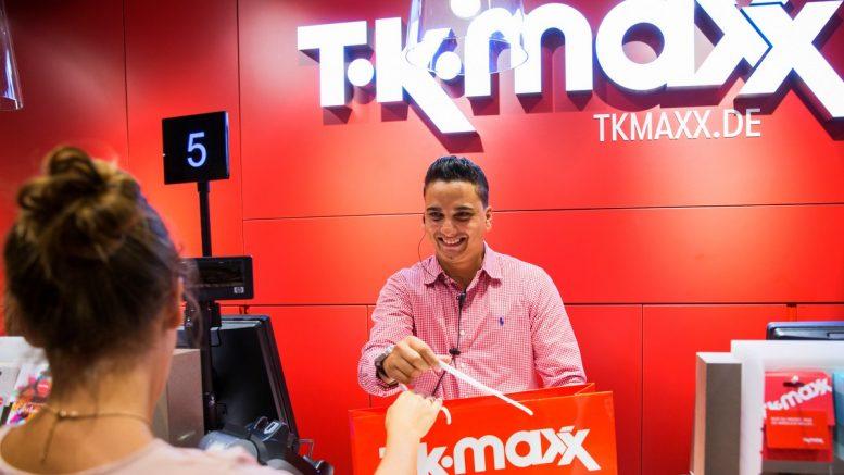 Kassenbereich TK Maxx