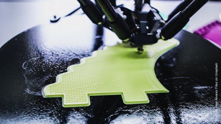 3 D Drucker beim Drucken