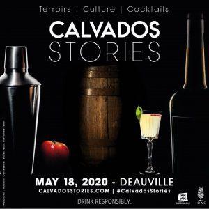 Veranstaltungsplakat Calvados Stories