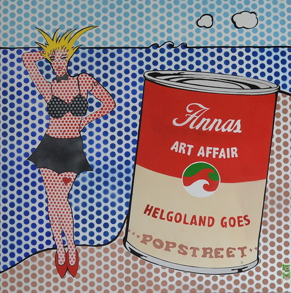 Anna Art Affair Pop Art Bild