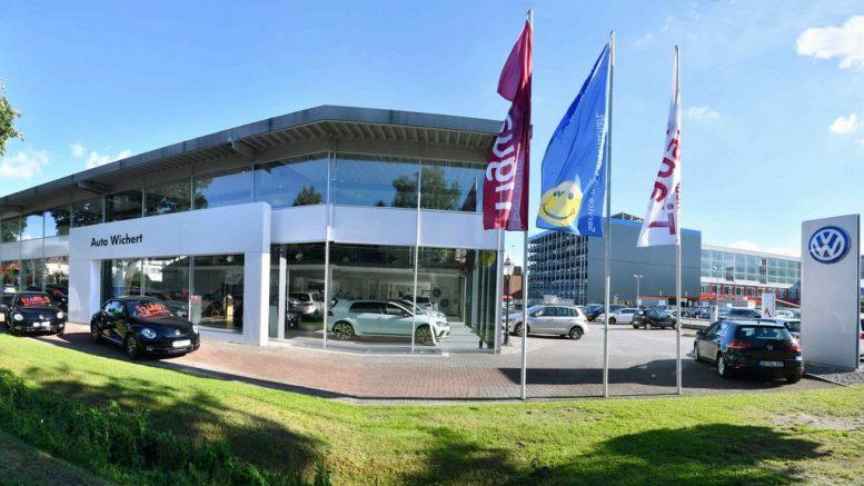 VW Filiale von Auto Wichert in Langenhorn
