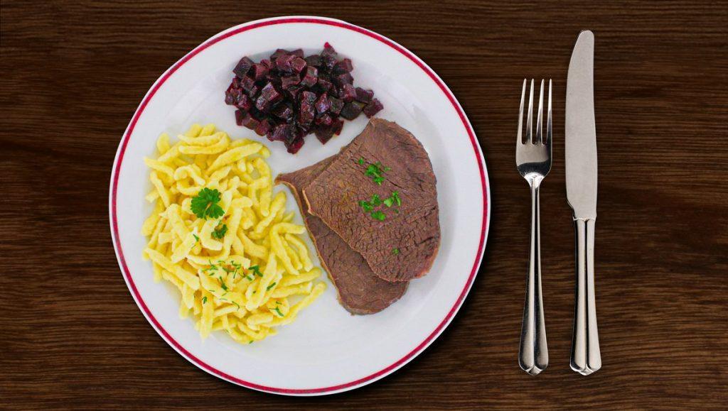 Tafelspitz von Block House Lunchtime Menü