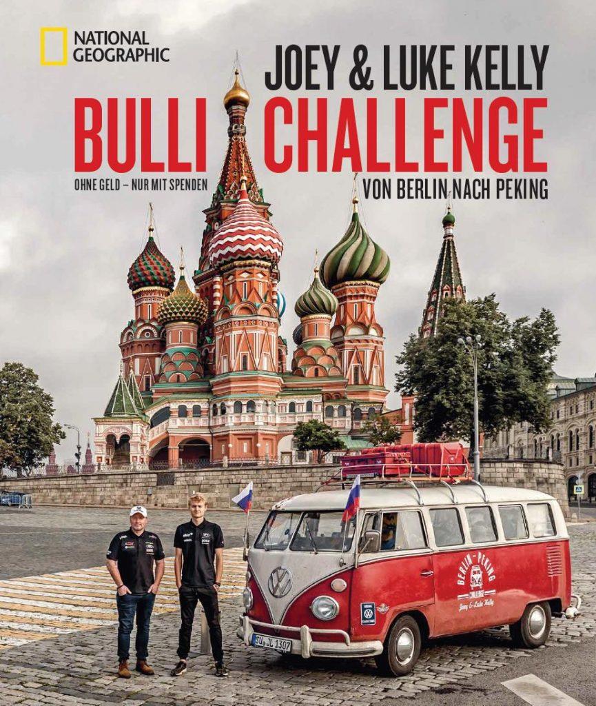 Buch von Joey und Luke Kelly: BULLI CHALENGE