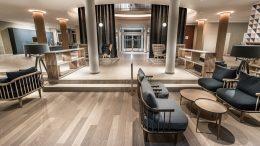 Lobbyansicht des Hotel Steigenberger Treudelberg