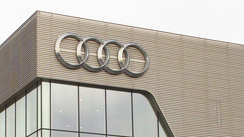 Markensymbol 4 Ringe von Audi
