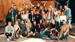 Channel Aid Musiker im Studio