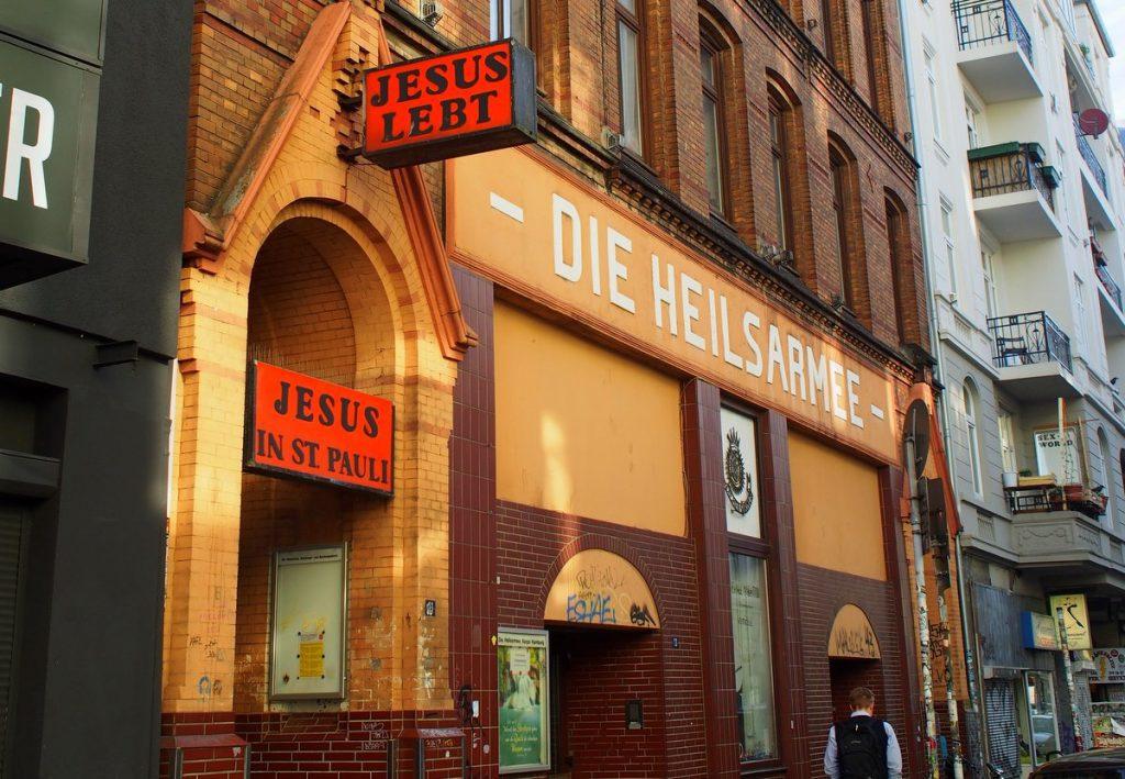 Haus der Heilsarmee in hamburg St. Pauli