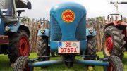 Blauer Lanz Traktor