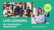 Veranstaltungshinweis Livecooking mit Tim Mälzer
