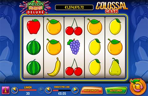 Online Splotspiel Screenshot Melon Madness Deluxe
