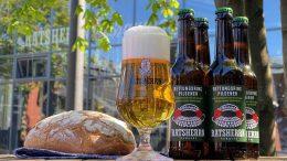 Moodfoto, Brot, Flasche, Glas - Ratsherrn Unterstützer-Bier