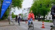 Pop up Radweg in hamburg