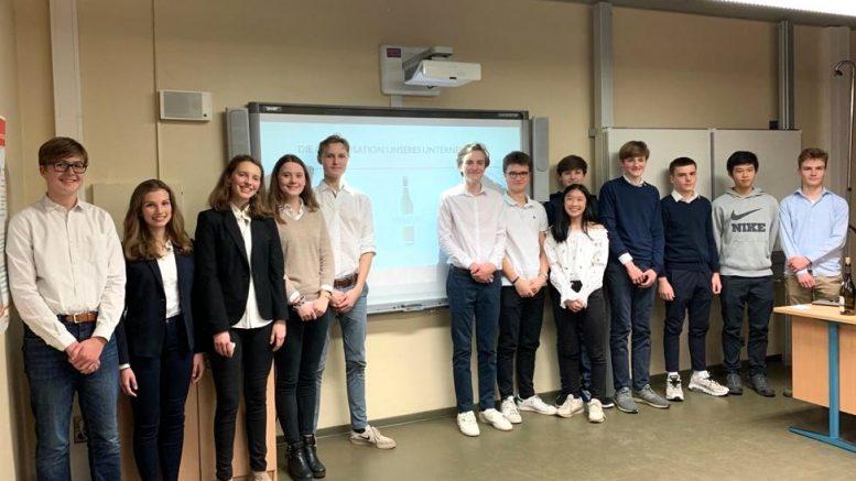 Das VineUp Team vom Gymnasium Johaneum Hamburg