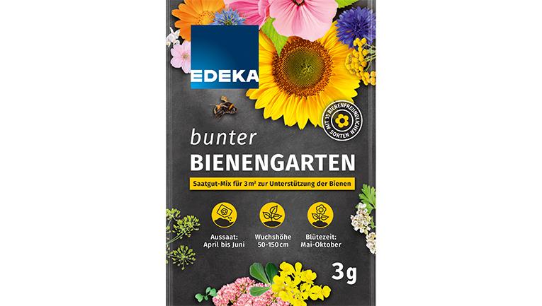 Saatguttüte bunter Bienengarten von Edeka