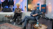 Im UWE Club: Olivia Jones im Gespräch mit Peter Tschtscher