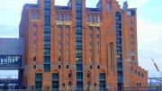 Gebäude des Hamburger Internationelen Maritimien Museums