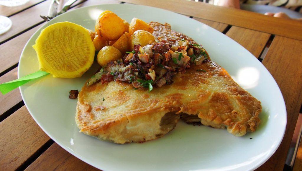 Kutterscholle - Fischgericht