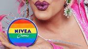 Oliva Jones mit Regenbogen NIVEA