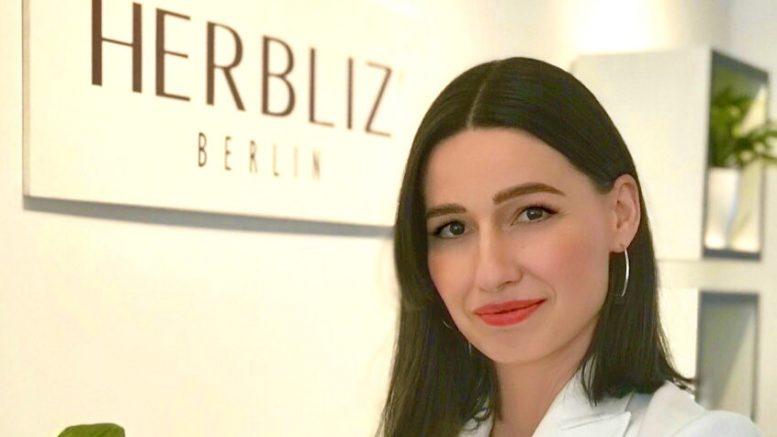 Sanja Bonelli im Herbliz Shop