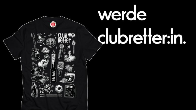 Das zweite fritz-kola Clubretter T-Shirt Hamburg