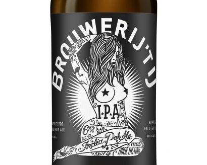 Bieretikett IPA Bier