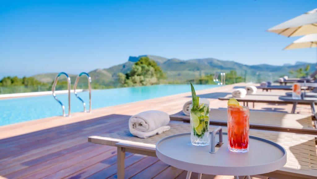 Hotelpool des Carrossa Hotel Spa Villas Mallorca
