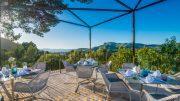 Blick von der Terasse des Carrossa Hotel Spa Villas Mallorca