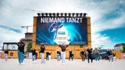 Flashmob im Autokino Heiligengeistfeld