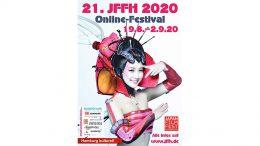 Veranstatltungsposter für das Japan Filmfest