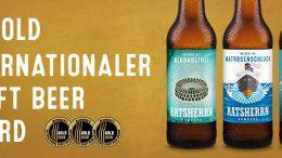 Meininger`s International Craft Beer Award 2020 Auszeichnungen für Ratsherrn