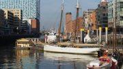 Der Sandtorhafen in der HafenCity