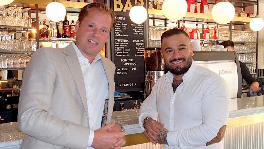 L'osteria Restaurant Dirk Block mit Majid Dadwar