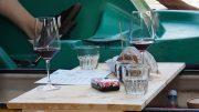 Cairanne Wein im Alsterkanu