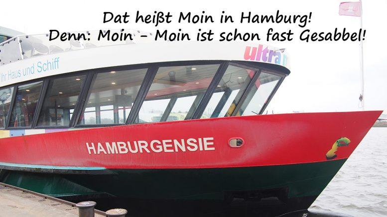Die Hafenfähre Hamburgensie