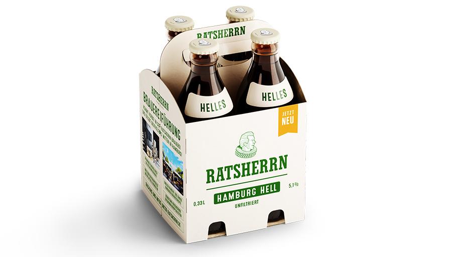 4er-Pack Ratsherrn Hell Produktfoto