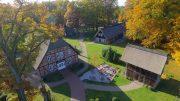 Simbekhof in Bispingen Drohnenaufnahme
