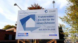 Bauschild für Eigentumswohungen