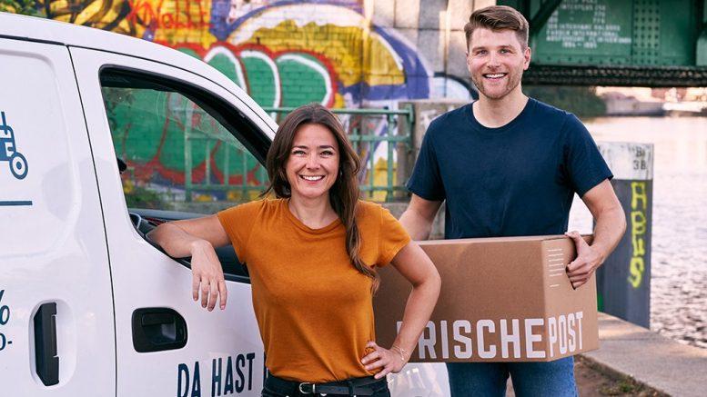 Elisabeth Koenigbauer und Melchior von Wedel werden Manager bei Frischepost