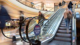 Rolltreppe im Alstertal Einkaufszentrum Moodbild