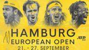 Plakat für ein Tennisturnier