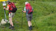 zwei Wanderinnen