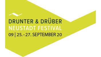 Logo Drunter & Drüber - Kulturfestival für die Neustadt Hamburg