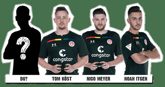 St. Pauli Fußballspieler