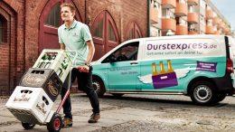 Getränkeauslieferung PR-Bild von Durstexpress