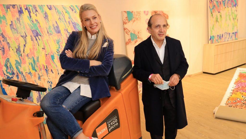 Elena Bulycheva und Hadi Teherani