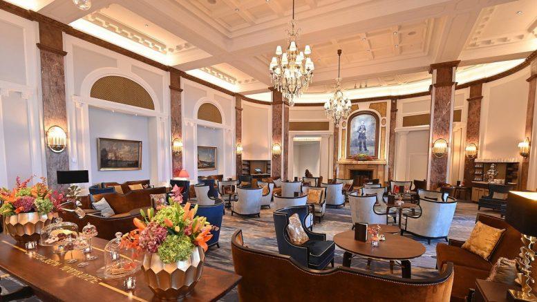Lobby des Hotel Atlantic nach der Umgestaltung