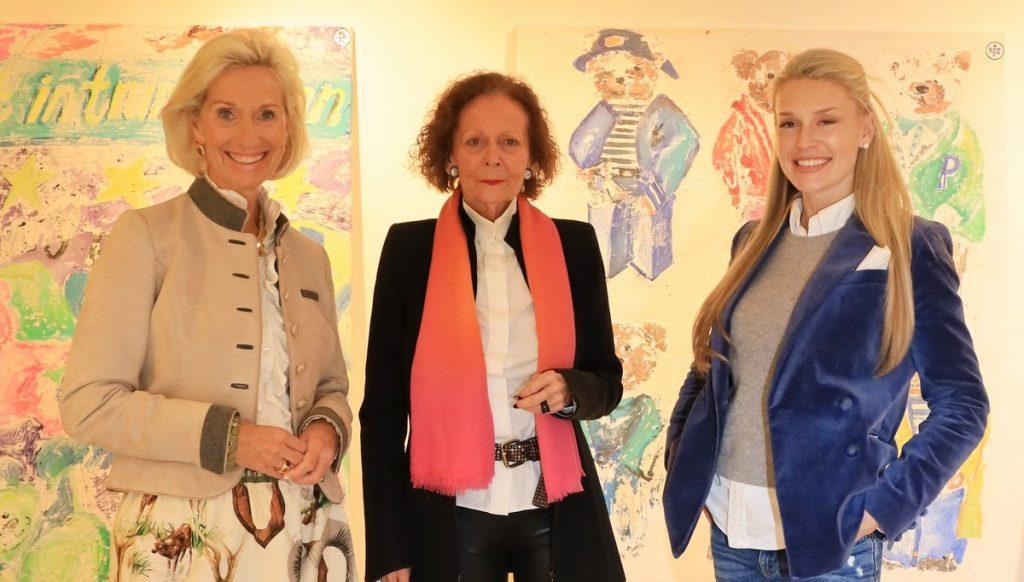 Kristina Tröger, Marietta Andreae, Elena Bulycheva